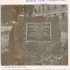 Placa en honor del Mariscal Braddock, inaugurada en Rockville, Maryland, el 9 de Julio de 1913.