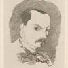 Baudelaire, d'après son propre dessin.]