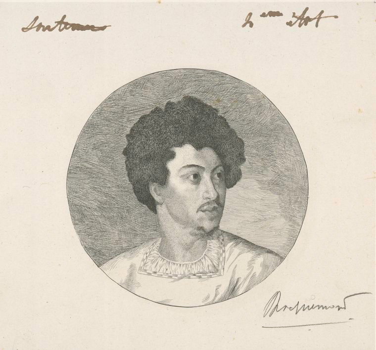 Fascinating Historical Picture of Alexandre Dumas in 1852