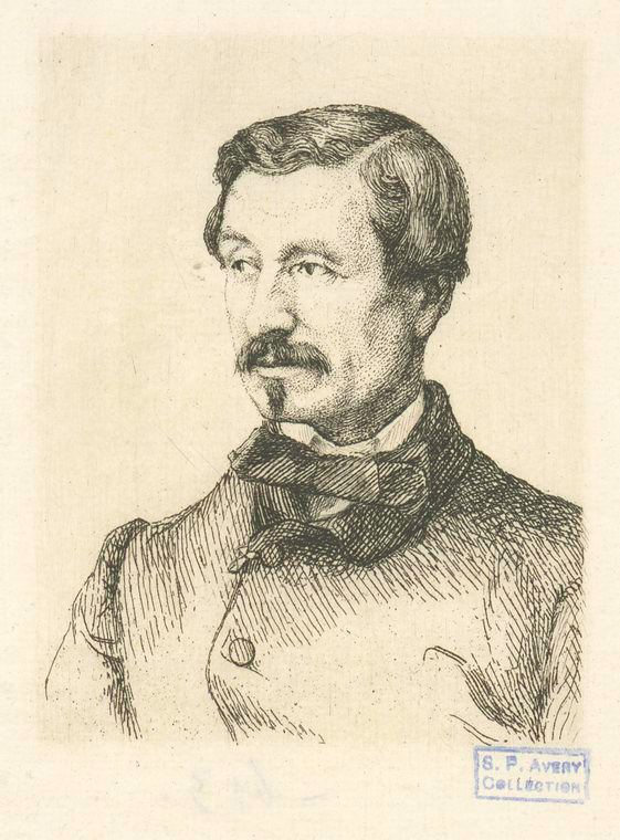This is What Denis Auguste Marie Raffet Looked Like  in 1852