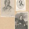 Charlotte Brontë [three portraits].