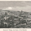 Haworth village, the home of the Brontës.