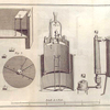 [Illustration of equipment parts and details.]