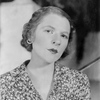"Ruth Gordon as Lily Malone in ""Hotel Universe."" NYC: Martin Beck Theatre, 1930."