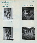 1017-1018. Wakidi with his wife and son; 1019-1020. Wakidi's home. Bukit Tinggi [Bukittinggi], 9.16.56.