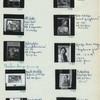 1091. Ramudin relief; 1092-1100. Paintings, by Moh. Sjafei, Baharuddin, Basuki Abdullah, Djedje Krta Madja, Henk Ngantung and Nurdin B.S. (Padang, 9.24.56, Palembang, 9.25.56)