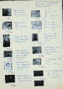 P1364-75. [Modern Indonesian paintings from Alexis Papadimitriou's collection. Djakarta, March 1969] [Affandi, Hendra Gunawan, Rusli, Kusnadi, etc.] Photos: F. Bodmer.