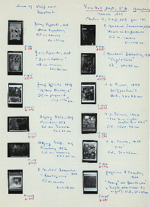 P1414-25. Fine Arts Dept., Bandung Institute of Technology (ITB). Works by staff and assistants, 1969. (Jusuf Affenfi, Atjeng Arif, I. Buchori Zainudin, A.D. Pirous, Gregorius Sidharta). Photos by F.A.D., ITB for C[laire] H[olt].