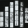Indonesia. Contact prints:  unnumbered and numbered P1428-P1454 [35 mm negative envelopes 1-6]