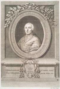 Bernardinus Cardinal de Giraud. [Portrait]