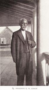 President G. W. Gibson.