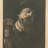[Un buveur, d'après Alexandre Lafond.]