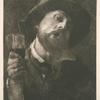 Un buveur, d'après Alexandre Lafond.