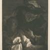 Eau-forte d'après Fragonard.