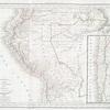Carte du Péru et du Chili