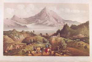 Lake of Atitlan.