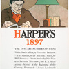 Harper's 1897, The January Number Contains White Man's Africa, by Poultney Bigelow. - The Martian , by Du Maurier, - Farce, by W. D. Howells, - Short Stories, by Miss Wlkins, Brander Matthews, and E. A. Alexander, - Science at the Beginning of the ...