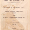 Travels in South America.... (Title page)