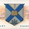Arms of University of Edinburgh.