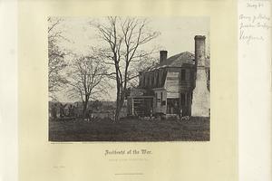 Incidents of the war : Moore House, Yorktown, Va.
