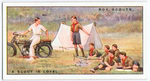 A Scout is Loyal.