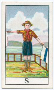 Semaphore Flag Signalling S.
