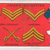 Soldiers' Sleeve Badges. - 1.