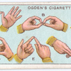 Alphabet for the Deaf and Dumb. - 1.