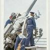 "H.M.S. ""Hood"". 4-in. Anti-aircraft Gun."