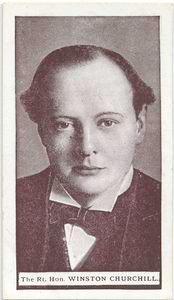 The Right Hon. Winston L.S. Churchill.