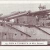 13.5 Gun & Turrets (H.M.S. Orion).