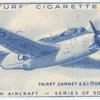 Fairey Gannet T.S.I. (turboprop).