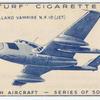 De Havilland Vampire N.F.10 (jet).