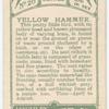 Yellow hammer.