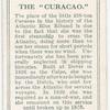 The Curacao.