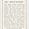 The Great Western.