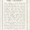 The Acadia.