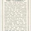The Cambria.