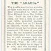 The Arabia.