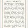 The Lucania.