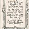 Lord Kitchener of Khartoum.