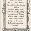 Lieut.-Col. Herbert Charles Plumer.