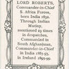 Lord Roberts.