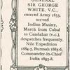 Gen. Sir George White, V.C.