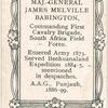 Maj. Gen. James Melville Babington.