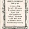 Lieut.-Gen. John D. French.