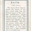 City arms, Bath.