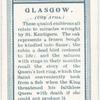 City arms, Glasgow.