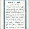 City arms, Bristol.