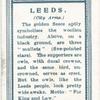 City arms, Leeds.